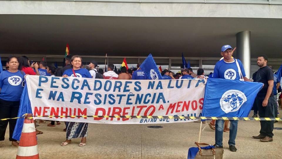 Articulação dos Povos e Comunidades Tradicionais ocupa Palácio do Planalto
